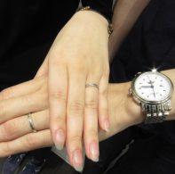 輪ファミリーの結婚指輪|IMG_0474