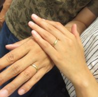 輪ファミリー結婚指輪|IMG_1035
