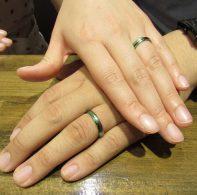 輪ファミリーの結婚指輪|IMG_1174
