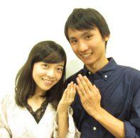輪ファミリー結婚指輪|IMG_1461