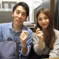 輪ファミリーの結婚指輪|IMG_1619