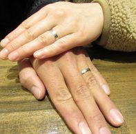 輪ファミリーの結婚指輪 IMG_3021
