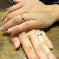 輪ファミリーの結婚指輪|IMG_3058