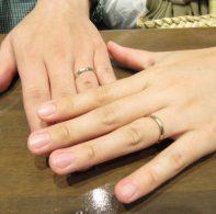 輪ファミリーの結婚指輪