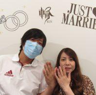 輪ファミリーの結婚指輪|IMG_3645