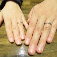 輪ファミリーの結婚指輪|IMG_4326