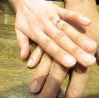 輪ファミリー婚約指輪IMG_4429