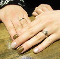 l輪ファミリーの婚約指輪結婚指輪|