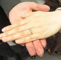 輪ファミリーの婚約指輪|IMG_5263