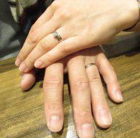 輪ファミリ―婚約指輪結婚指輪IMG_5379