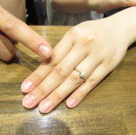 輪ファミリー婚約指輪IMG_5541