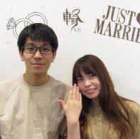 輪ファミリーの婚約指輪|IMG_5627