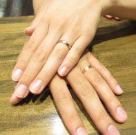 輪ファミリーの結婚指輪|IMG_5695